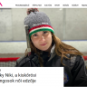 Kosóczky Niki, a kiskőrösi jégkorongosok női edzője